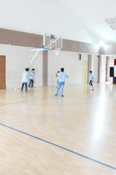 Lentera Arteri Indoor Basketball